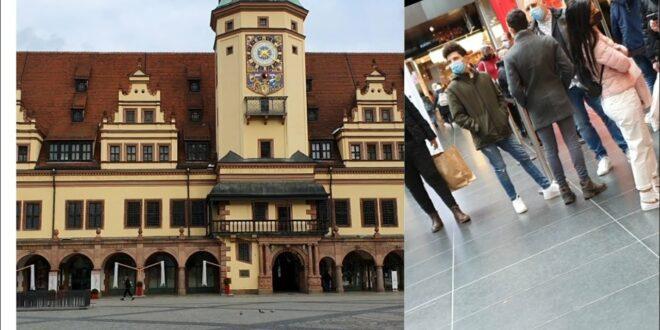 LEBEN NACH DEM VERRIEGELUNG / LEIPZIG CITY / SHORT CITY VIEW