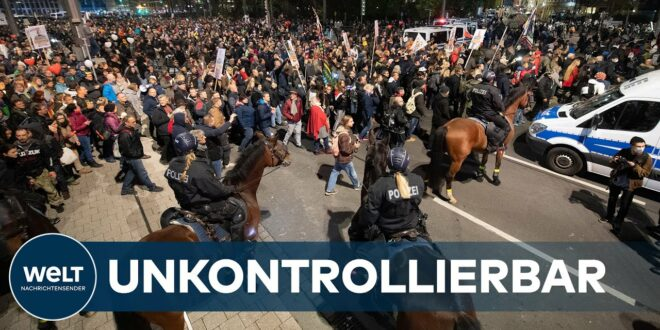 LEIPZIG POLICE DISASTER: Hier kapitulierte die Polizei vor Corona-Demonstranten