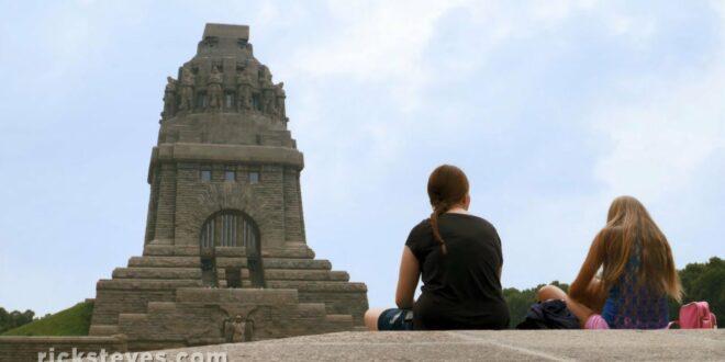 Leipzig, Deutschland: Denkmal für die Völkerschlacht