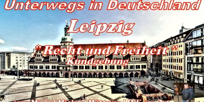 Leipzig Kundgebung LIVE 6.11.20