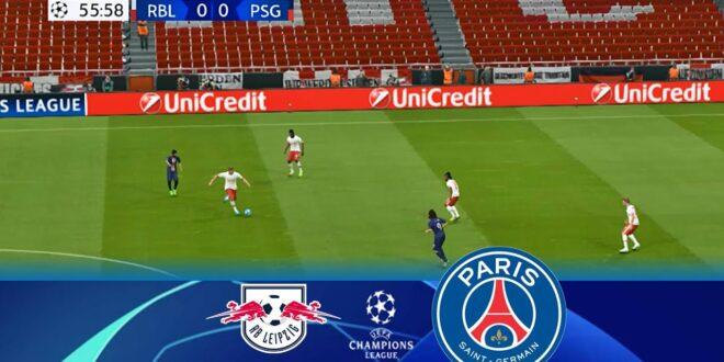Leipzig gegen PSG |  Highlights & alle Ziele |  UEFA Champions League 2020 Halbfinale |  PES-Gameplay