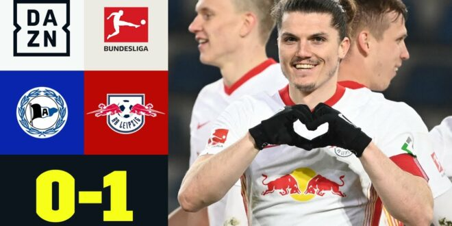 Leipzig gewinnt Arbeit gegen starken Arminier!  Bielefeld - RB Leipzig 0: 1 |  Bundesliga |  DAZN