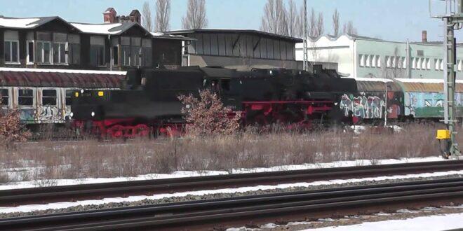 Leipziger Plagwitzer Eisenbahnmuseum in Aktion