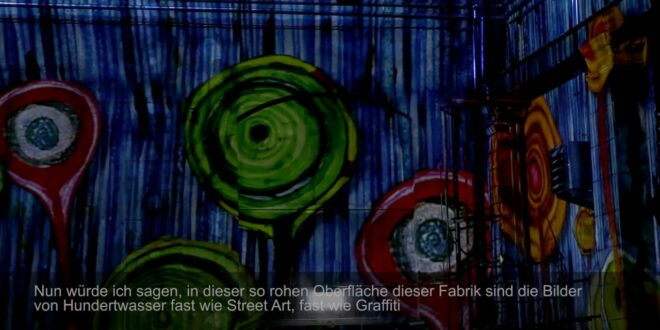 Making Of - Hundertwasser Experience von Immersive Art Factory @Kunstkraftwerk Leipzig