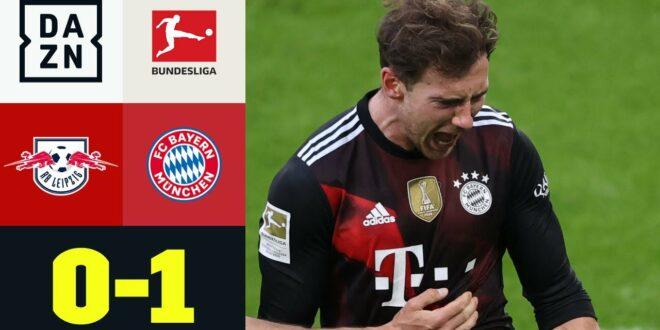 Matchsieger Goretzka!  Die Bayern bauen ihre Führung aus: Leipzig - FC Bayern 0: 1 |  Bundesliga |  DAZN