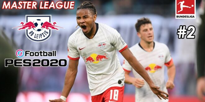 PES 2020 Master League RB Leipzig # 2 PS4
