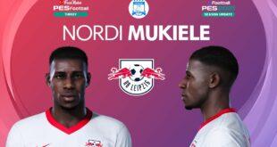 PES 2021 Nordi Mukiele Gesicht |  RB Leipzig |  PES 2020