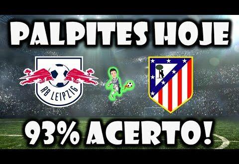Palpites Futebol Jogos de Hoje |  Palpites RB Leipzig x Atl.  Madrid |  Liga dos Campeões (Meister)