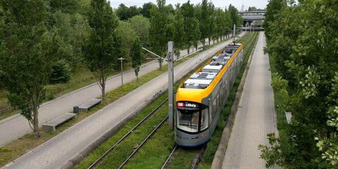 Straßenbahn - Leipzig-Messe