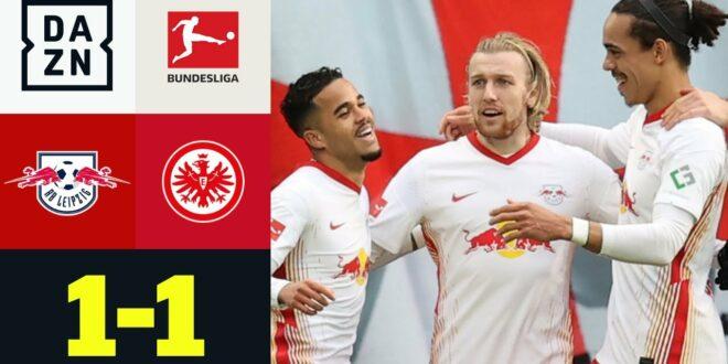 Trotz Forsberg-Show: Kein Sieg für Leipzig: RB Leipzig - Eintracht Frankfurt 1: 1 |  Bundesliga |  DAZN