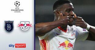 7 Tore!  Leipzig gewinnt Spektakel |  Basaksehir - RB Leipzig 3: 4 |  Höhepunkte - UEFA Champions League