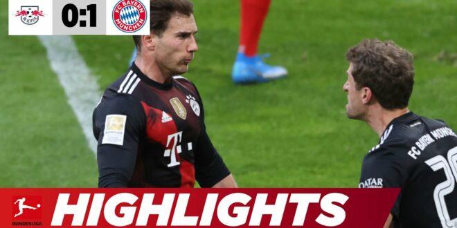 Bayern-Sieg: Wurde der Titelkampf entschieden?  |  Leipzig - Bayern 0: 1 |  Highlights |  Bundesliga