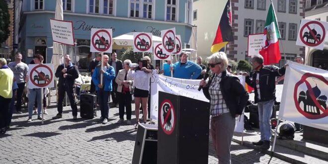 Demo gegen Moscheenbau in Erfurt am 5. Mai 2018