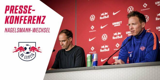 Die Pressekonferenz zum Trainerwechsel von Julian #Nagelsmann