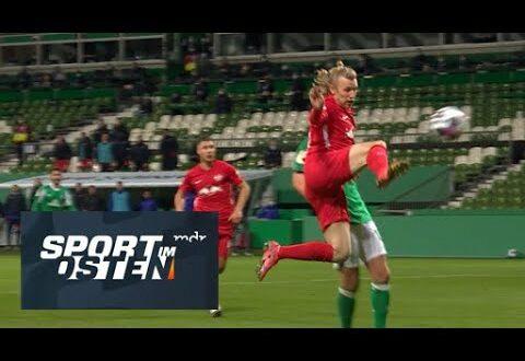 Die Tore für den Pokalkampf Werder Bremen gegen RB Leipzig |  Sport im Osten |  MDR