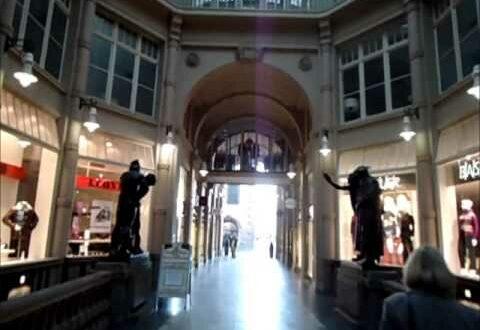 Mädlerpassage, Leipzig, Deutschland - Mädlerpassage - Historisches Einkaufszentrum