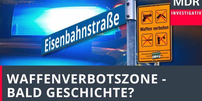 Messer, Baseballschläger, Pfefferspray - was bringt die Waffenverbotszone in Leipzig?