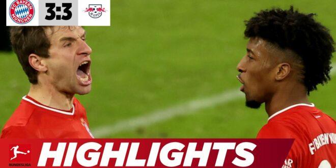 Müller & Coman sind das neue Traumduo |  Bayern - Leipzig 3: 3 |  Highlights |  Bundesliga