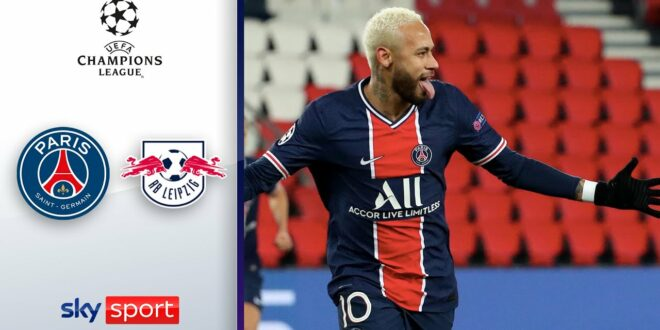 Neymar Strafe ist genug, um zu gewinnen |  Paris Saint-Germain - RB Leipzig 1-0 |  Champions League2020 / 21