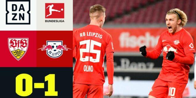 Olmo gibt Leipzigers 4. bis Null-Sieg in Folge: Stuttgart - RB Leipzig 0: 1 |  Bundesliga |  DAZN