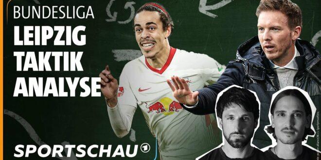 RB Leipzig unter Julian Nagelsmann - die taktische Analyse |  Broich & Polenz |  Sportshow
