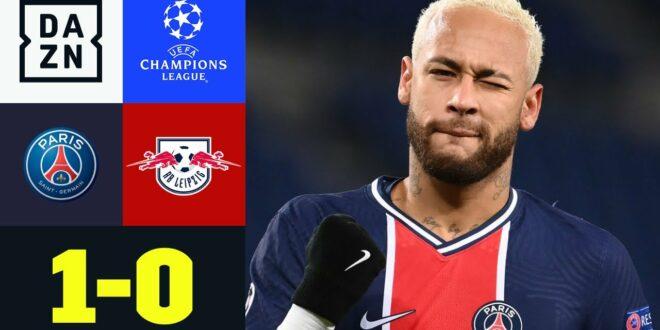 Sabitzer Fouls - Neymar trifft: PSG - RB Leipzig 1-0    UEFA Champions League    DAZN