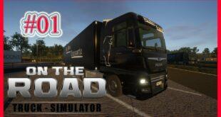Unterwegs - Truck Simulator - Leipzig nach Magdeburg!  4K Gameplay Fanatec Wheel