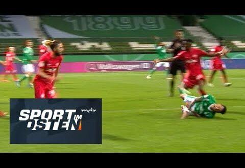 Werder Bremen gegen RB Leipzig: die Elfmeter-Aufregung |  Sport im Osten |  MDR