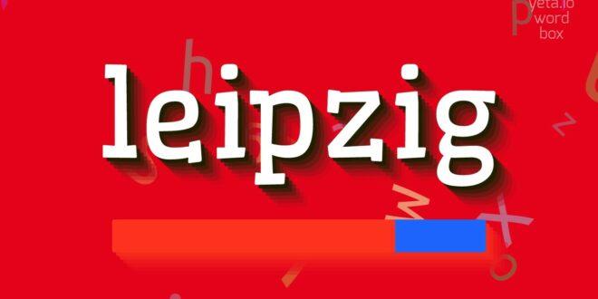 """Wie sagt man """"Leipzig""""!  (Hochwertige Stimmen)"""