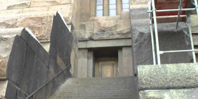 das Völkerschlachtdenkmal in Leipzig - Panorama über die Stadt - von Thilo aus gesehen