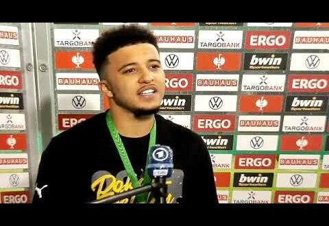 """Jadon Sancho: """"Schade, dass ich keinen Hattrick gemacht habe!""""  RB Leipzig - Borussia Dortmund 1:4"""