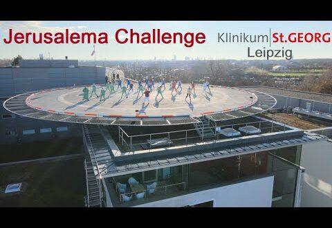 Jerusalema Challenge Klinikum St. Georg Leipzig und Feuerwehr Leipzig #JerusalemChallenge