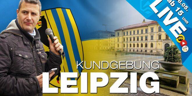 LIVE |  Rallye LEIPZIG |  08.05.  |  Simsonplatz |  Ab 15 Uhr |  #Teilen