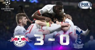 RB Leipzig - Tottenham [3-0] |  GOLES |  Octavos de final (Vuelta) |  UEFA Champions League