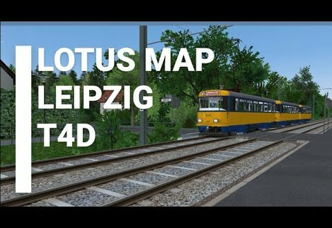 Tatra T4D-M - LOTUS Simulator - Karte Leipzig von LOTUS Team Leipzig [W.I.P.]