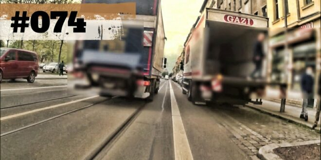 Radfahren in Leipzig [Fahrrad Dashcam] - Folge # 074