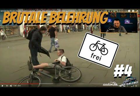 """Der Fahrlehrer reagiert auf """"Aliverable - Fahrrad Dashcam Leipzig"""" Gesattelt # 4"""