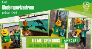 Kindersport im Zoo Leipzig - Fit mit Sportikus Special, Teil 1