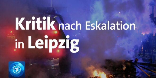 Nach der Eskalation in Leipzig sind Politik und Polizei unter Beschuss geraten