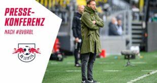 Die Pressekonferenz nach dem 32. Spieltag |  BVB - RB Leipzig 3-2
