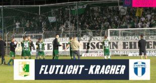 Flutlicht im Sachsenpokal I BSG Chemie Leipzig - FC Blau-Weiss Leipzig (Sachsenpokal)