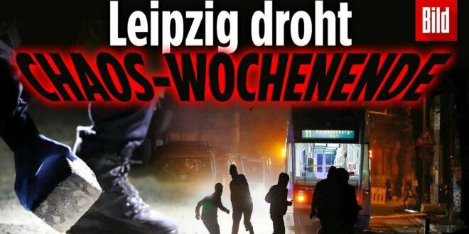 Linksextremer Aufstand in Leipzig: Polizisten mit Kopfsteinpflaster beworfen - acht Verletzte
